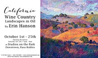 erin hanson art exhibit