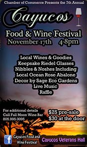 cayucos food and wine festival