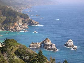 big sur california coast